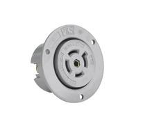 20 Amp NEMA L2220 Outlet, Gray