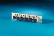 Fib-Cop II Bottom Adapter Plate, 6-SC Simplex (6 Fibers) Multimode, Beige adapters