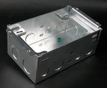 880W Series™ Two Gang Steel Floor Box for Wood Floors