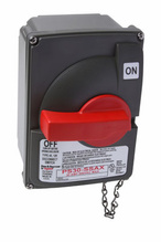 Non-Fusible Safety Switch with Auxiliary Contact, 30 Amps