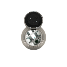 """3-Hour Fire Classified 6"""" Recessed Unwired Surface Style Poke-Thru Assembly"""