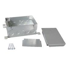 Omnibox® Series Two Gang Steel Floor Box