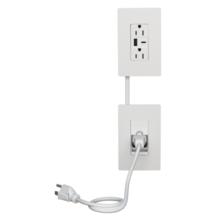 radiant In-Wall Outlet Relocation Kit with USB Charging