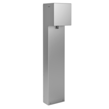 Outdoor Power Pedestal, 1-Gang Device Plate with Hinged Cover