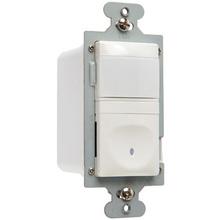120V Single Pole Vacancy Sensor, White