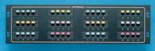 48-port voice/data panel -  std density -  mod to 110 -  19 in x 5.25 in