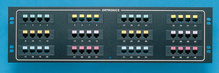 48-port voice/data panel - std density - mod to 110 - 19 in x 5.25 in