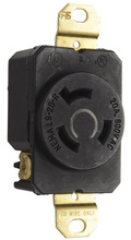 20 Amp NEMA L920 Single Receptacle