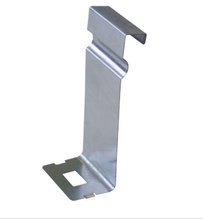FIBER TROUGH HOLD DOWN 4''H  STAINLESS