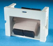 Series II Module, 1-SC Duplex (2 fibers) Multimode, 60 degree exit