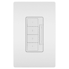 In-Wall RF Scene Controller, White