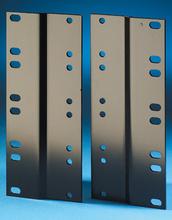 Rack Adapter Kit - 19 to 23 in - 7.0 in H - 4 rack units - - black