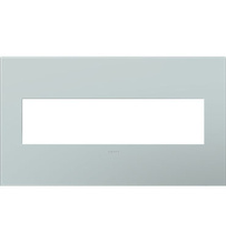 adorne® Pale Blue Four-Gang Screwless Wall Plate