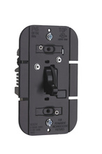 TradeMaster 1100W Incandescent Toggle Dimmer, Black