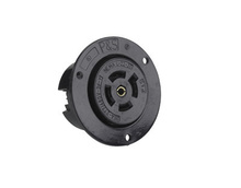 20 Amp NEMA L2220 Outlet, Black
