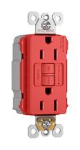 PlugTail® Spec-Grade Tamper-Resistant 15A Self-Test Duplex GFCI, Red