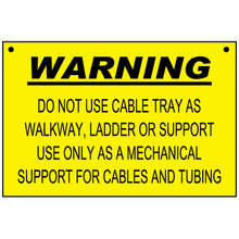 Plastic Safety Sign