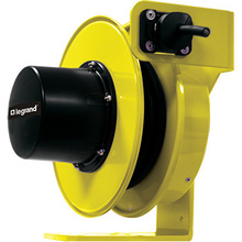 1400 Series Cable Reel with Flying Lead  12 Amp, 14 AWG, 30 feet  For Stretch Applications