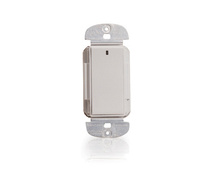 Three-wire Low Voltage Momentary Decorator Switch, Ivory