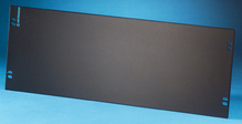 Blank Filler Panel - 19 W x 7 in H - 4 rack units