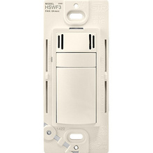 HSWF3 Humidity Based Fan Control, Light Almond