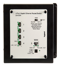 4-Port Gigabit Router/Switch