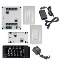 Digital Audio Two-Room, Single-Source Kit, White