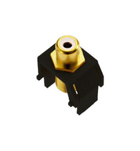 RCA to F-Connector, Black