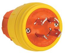 SteriGuard™ Turnlock Plug 30A, 3Φ480V