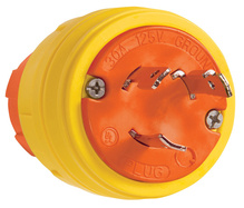 SteriGuard™ Turnlock Plug 30A, 125/250V