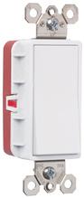 PlugTail® Three-Way 15 Amp Decorator Switch, Gray