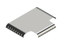 HTB450BL - HORIZONTAL T BRIDGE 18'' BLACK [944844]