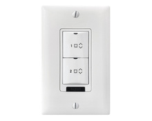 DLM Low Voltage 2-Button Shade Wall Switch
