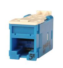 Clarity CAT5E High Density Jack,T568A/B, blue