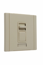 Titan Series Magnetic Low-Voltage Dimmer, Ivory