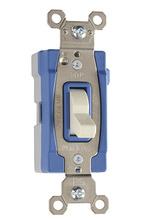 PlugTail® Three-Way 15 amp Toggle Switch, Light Almond