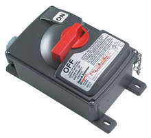 Non-Fusible Safety Switch with Auxiliary Contact, 60 Amps