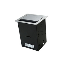InteGreat™ A/V TABLE BOX WITH USB, FIELD WIRED,  ALUMINUM