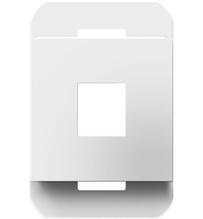 1-Port Frame, White