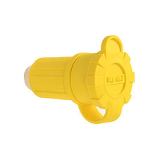 20A, 125V Watertight Straight Blade Connector, Yellow