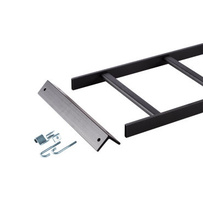 Runway Wall to Rack Kit, Black