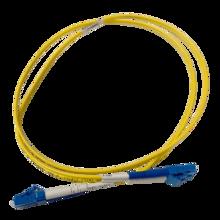 Infinium Quantum, LC to LC Duplex Patch Cord, 2mm OS2 SM, Yellow, Plenum, 3 FT