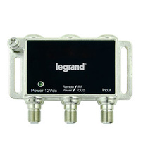 Single-port RF Digital Cable Amplifier w/ Mounting Bracket