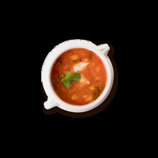 Sopa de Choclo y Tomate