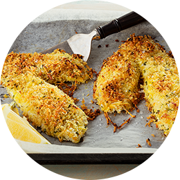 Parmesan Panko Fish