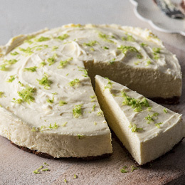 Zesty Lime & Chocolate Cheesecake Recipe