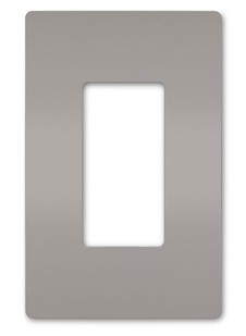 radiant® One-Gang Screwless Wall Plate