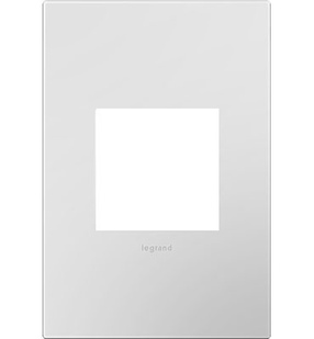Powder White 1-Gang Wall Plate