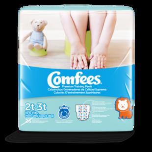 CMF-B2 - Comfees Training Pants Boys, 2T/3T, 26 count