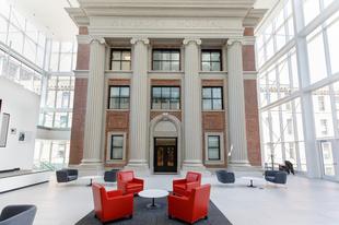 Wigton Heritage Center atrium